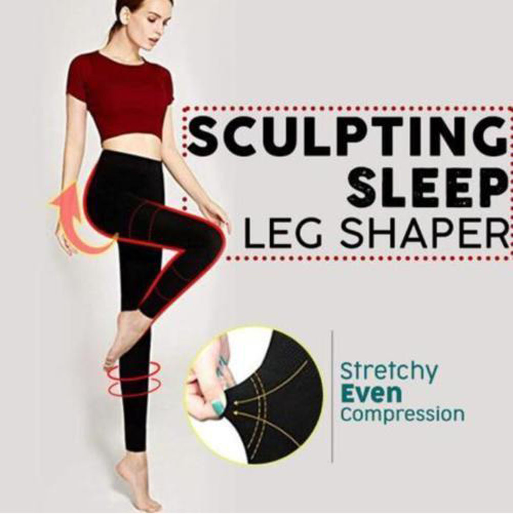 Sculpting Sleep Leg Shaper Pants   Legging   Women Body Shaper Panties Slimming Ultimate Leg Sexy Hip Up Control Panties #4