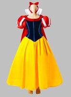 Косплей принцесса белоснежка взрослых костюм платье с плащ ну вечеринку платье косплей платье