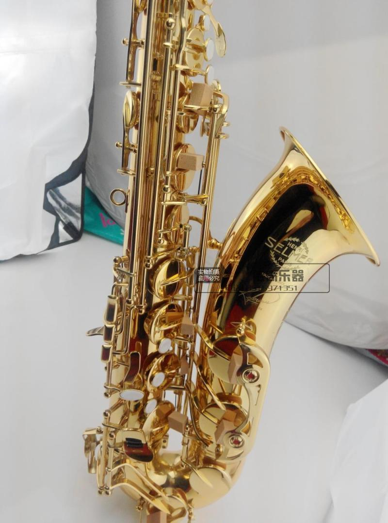 tenor saxophone Hot selling France Selmer 54 Saxophone B flat tube high-grade paint gold shipping quality assurance saxophone selmer of france b flat tenor sax instruments shipping professional performance suitable for beginners