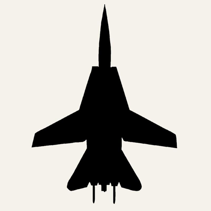 Wholesale 50pcs Lot F 14 Fighter Car Sticker Pilot Fly