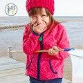 Новое прибытие Весна и Осень Дети детские девушки толстовки Детские Мальчики девочки полоса флис куртки и пальто дети девочки футболка