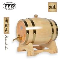 Tatsu 20L barrels of oak casks and no bile baked oak barrel oak wine barrel