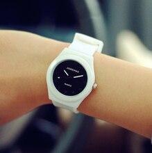 2017 Fashion Ladied Wrist Watch Women Top Silicone Quartz Watches Female Clock Silicona Children Quartz-watch Relogio Feminino