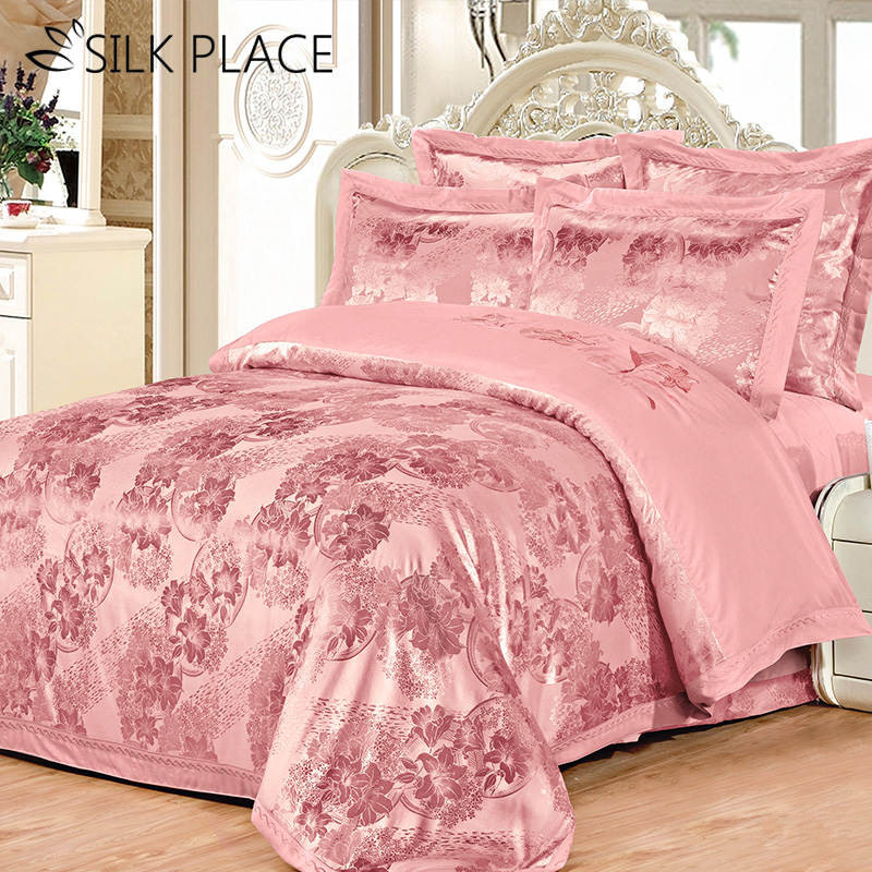 Silk Place 100 Cotton Bedding Sets High Quality Car
