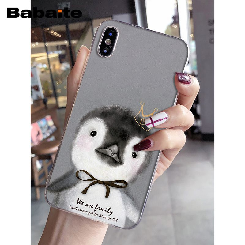 apple iphone 8 case penguin