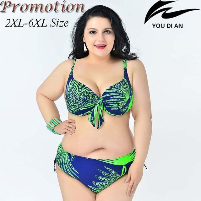 506548b6a7e54 placeholder hot push up plus size bikini large size bikinis set 2XL to 6XL  fat swimwear swimsuit