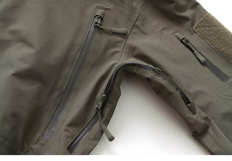 TACVASEN Summer Clothes SPECTRE HARDSHELL Military Tactical Jackets Waterproof Windproof Men's Mountaineering Coat TD-JLHS-024-1