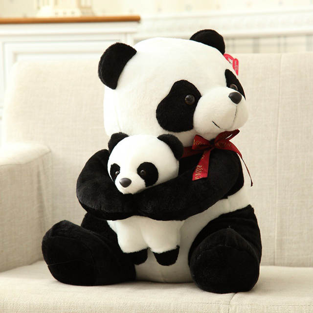 Online Shop 50cm Giant Cute Stuffed Plush Panda Bear Toy Baby Father