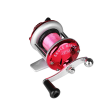 Mini Metal Bait Casting Spinning Fishing Reel