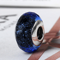 Original 100% Authentic 925 Sterling Silver Charms Thread Murano Glass European Beads fit for Pandora bracelets Wholesale