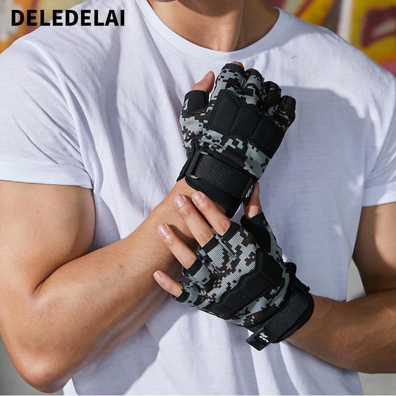 DELEDELAI Tactical Gloves Men Army Police Soldier