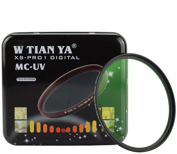 WTIANYA 37 40.5 46 49 <font><b>52</b></font> 55 58 62 67 72 77 82 86 95 105mm XS-PRO1 ultra slim TIANYA MC UV Lens Filter Protector for camera lens image
