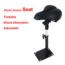 Electric Scooter Seat Foldable Shock Absorbing Seat Comfortable Electric Skateboard Damping Seat for Xiaomi Electric Scooter