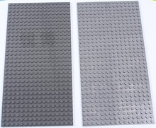 2 pieces/lot Wange Small particles Blocks Baseplates 32*16 Dots Base plate Size 26*13cm Toys Compatible with Legoe Minifigures