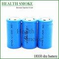 Hot 18350 18650 batería Li ion recargable para K100 cigarrillo electrónico VAMO kamry IPV cuerpo 2 unids/lote