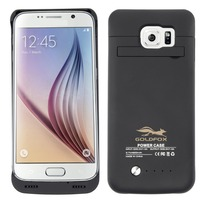 4200 mah Cep Telefonu Harici Pil Şarj Cihazı Kutu Samsung Galaxy S6/S6 Kenar Akıllı Telefon Pil Şarj Case kapak