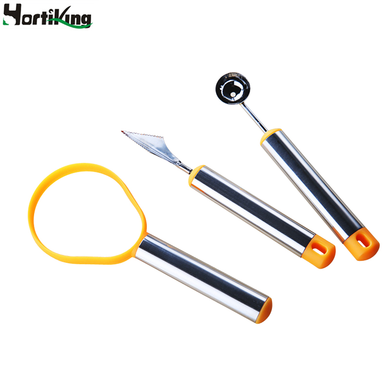 Vegetable and fruit carving knife set stainless steel ice