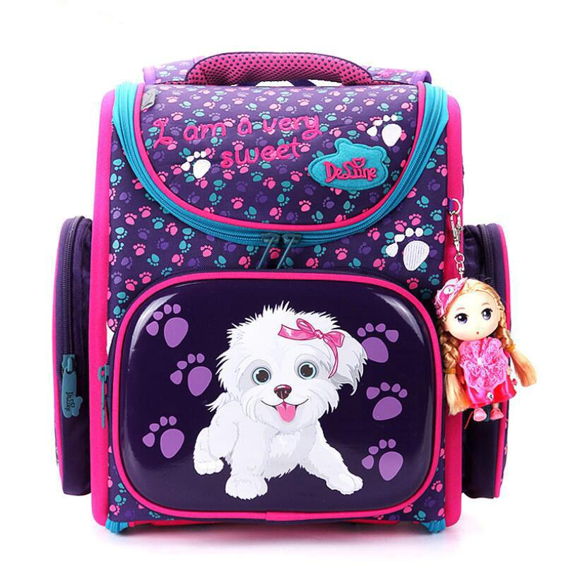 جديد حقيبة مدرسية الاطفال الأطفال على ظهره عالية الجودة 3D طباعة حقيبة مدرسية s للأولاد الفتيات الطفل أكياس المدارس الابتدائية الظهر-في حقائب مدرسية من حقائب وأمتعة على  مجموعة 3