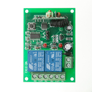 Image 3 - DC12V 24V 10A Motor Remote Switch Controller Motor Forwards Reverse Up Down Wall Transmitter Manual Button Limit Switch