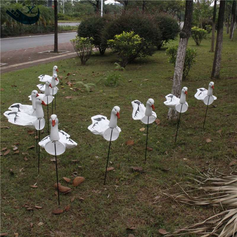 Goose Decoys For Sale >> Us 65 99 Xilei Factory Directly Sell Tyvek Goose Decoys Windsock Goose Decoys Hunting Goose Decoys With Ground Stake In Hunting Decoy From Sports