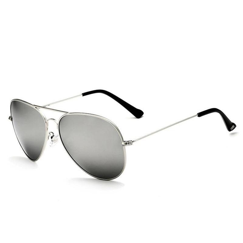 Солнцезащитные очки унисекс VEITHDIA, брендовые классические дизайнерские очки с зеркальными поляризационными стеклами, степень защиты UV400, для мужчин и женщин - Цвет линз: silversilver