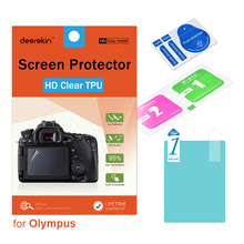 Deerekin HD Soft TPU Screen Protector for Olympus TG-6 TG-5 TG-4 TG-3 TG5 TG4 TG3 Tough Waterproof Digital Camera cheap Exact Fitted DK-TPU-SP-TG5