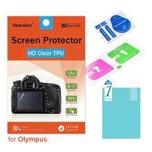 Deerekin HD Soft TPU Screen Protector for Olympus TG-6 TG-5