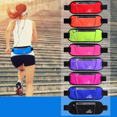 2018 New Unisex Shopping Waist Packs!Hot Casual Women leisure riding chest pockets Fashion Lady Lycra mobile&change Carrier image