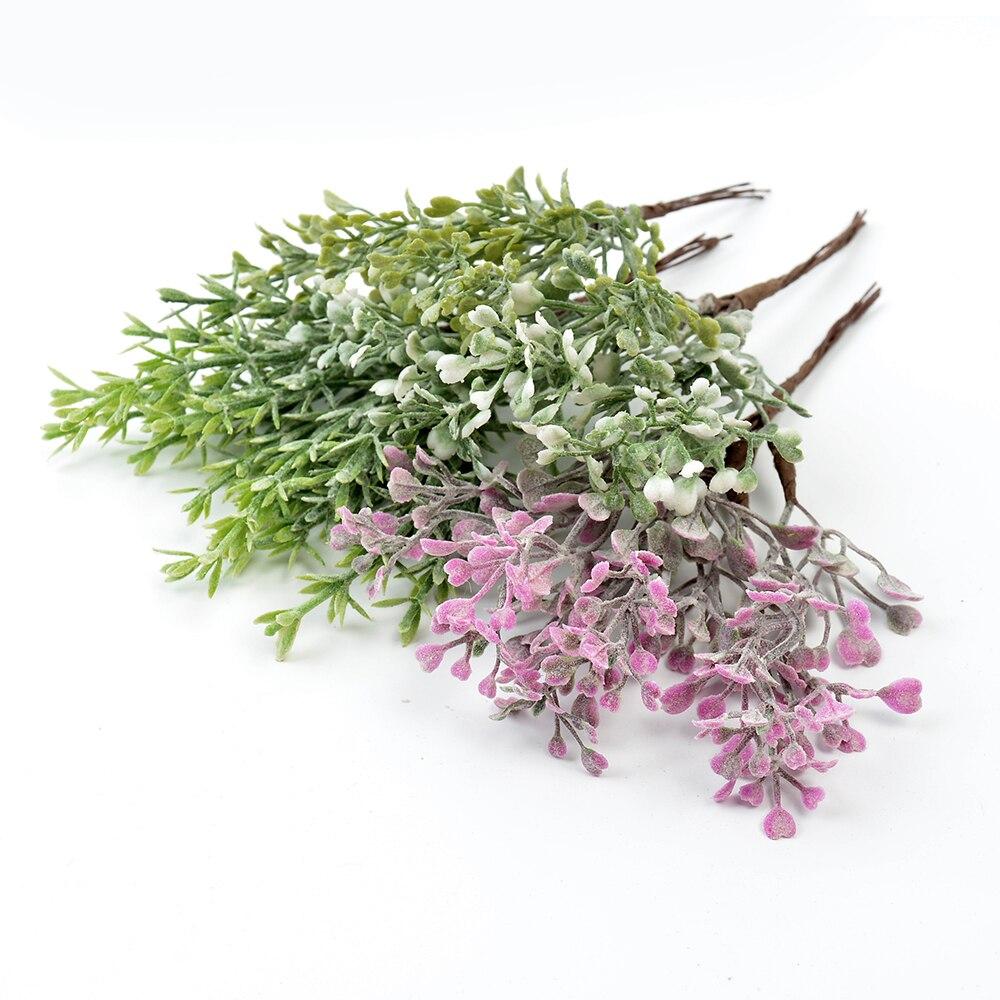 6 шт искусственные растения, ненастоящие трава искусственные цветы для дома, гирлянда