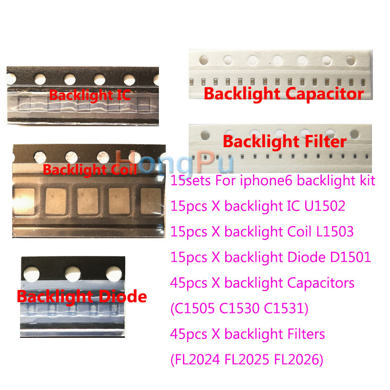 15set lot IC U1502 Coil L1503 Diode D1501 Capacitor C1530 C1531 C1505 filter FL2024 25 26