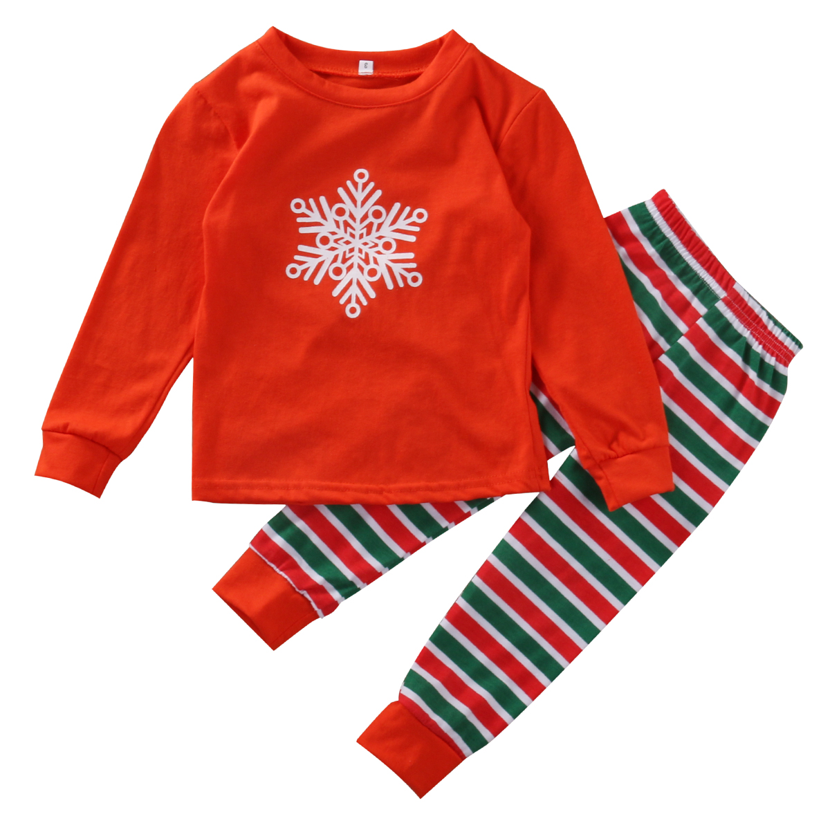 Christmas Family Matching Pajamas Children Adult Sleepwear Nightwear Pyjamas Set