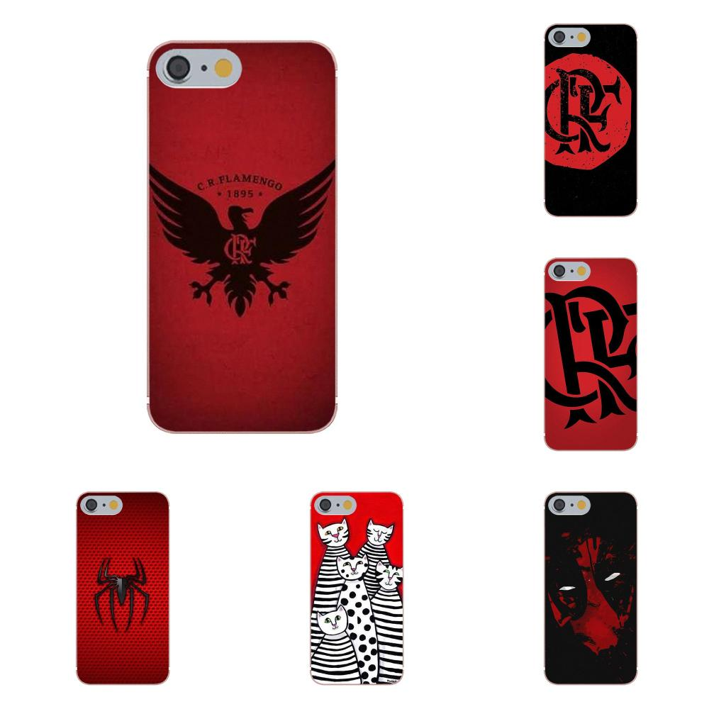 Tpwxnx Red Design For Apple iPhone X 4 4S 5 5C 5S SE 6 6S 7 8 Plus Soft Rubber Phone Case image