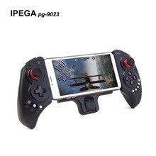 Новинка 2017 беспроводной телескопическая IPEGA pg-9023 Bluetooth игры геймпад джойстик игровой контроллер для IOS Android Phone/pad