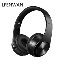 Wireless Bluetooth headset SD card music game headset bass headset portable charging headset for all Bluetooth devices bluetooth headset wireless headset supports tf card mobile computer tablet heavy bass folding portable adjustable
