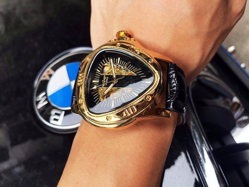 HTB1spDWmsyYBuNkSnfoq6AWgVXa5 Winner Steampunk Fashion Triangle Golden Skeleton Movement Mysterious Men Automatic Mechanical Wrist Watches Top Brand Luxury