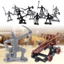 14pcs set medieval knights…