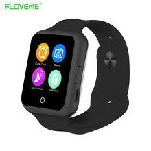 FLOVEME Bluetooth Smart Watch Support SIM Card Men Women Android Phone Wristwatches Waterproof Sport Clock font