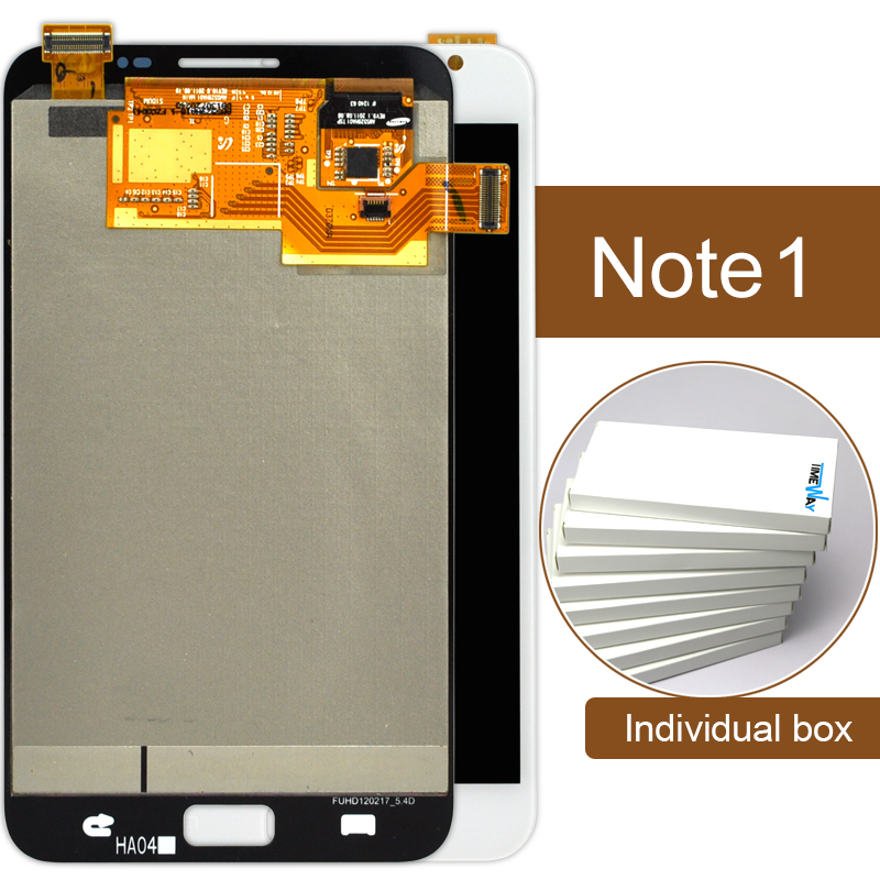 10% off 28th-30th March 2pcs New Original Display For Samsung Note N7000 I9220 Lcd With Touch Screen Assembly