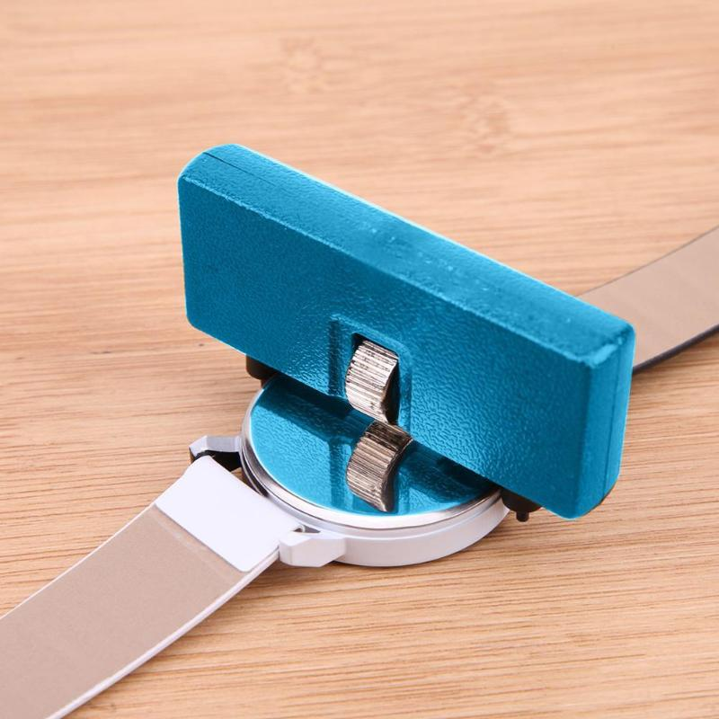 1pc Portable Watch Tools Watches Back Case Watchmaker Opener Screw Wrench Remover Watch Repair Tool Kit  Accessory