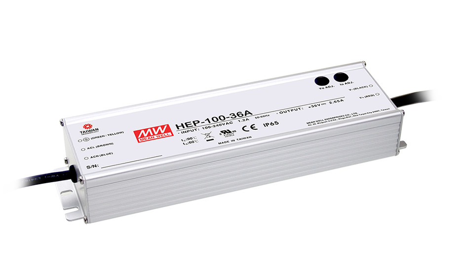 цена на MEAN WELL original HEP-100-24 24V 4A meanwell HEP-100 24V 96W Single Output Switching Power Supply