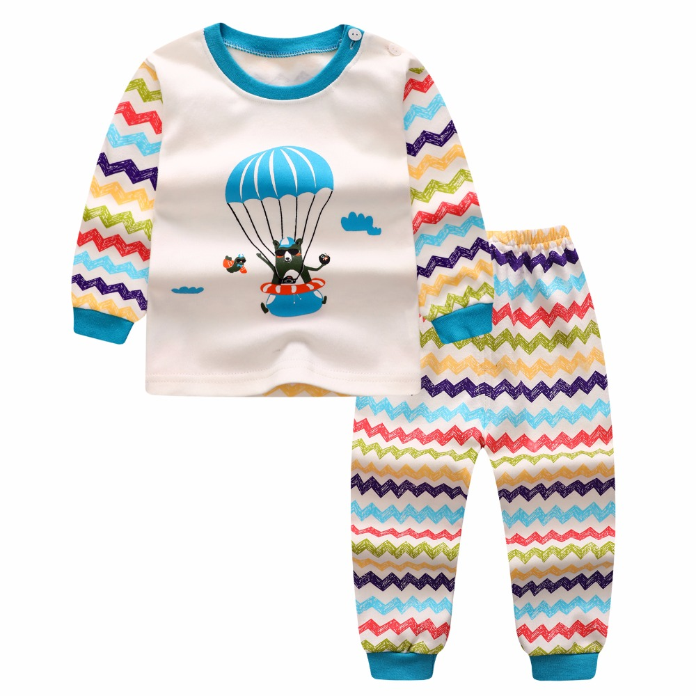 2017 spring baby boy girl clothes long sleeve top pants for Best dress shirts 2017