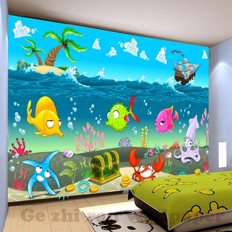 Custom 3D Mural Wallpaper Children Room Wall Covering