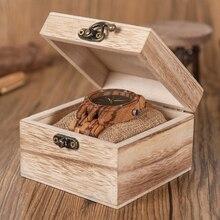 BOBO BIRD WN12 Wooden Watches Mens Brand Luxury Zebra Wood Band Quartz Watch Accept Logo Laser