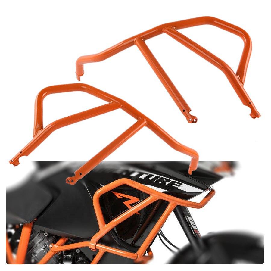 Acier Orange Supérieure Crash Bar Protection Cadre Garde pour 2013-2016 KTM 1190 Aventure/R 2014 2015