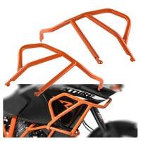 Steel Orange Upper Crash Bar Protection Frame Guard for 2013 2016 KTM 1050 1190 Adventure / R 2014 2015