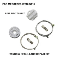 ELECTRIC WINDOW KIT FOR MERCEDES W210 S210 ELECTRIC WINDOW REGULATOR REAR LEFT RIGHT 1995 2003