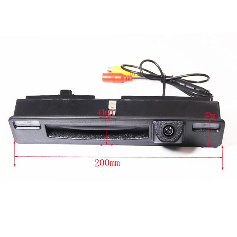 HD CCD Car Trunk Handle Reverse Car Parking Rear View Camera for Ford Focus 2015 2016 2017 night vision waterproof backup New
