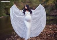 Maternity Photography Props Chiffon Cloak Maternity Dresses for Photo Shoot Long Maxi Pregnancy Dress Pregnant Gown Dress