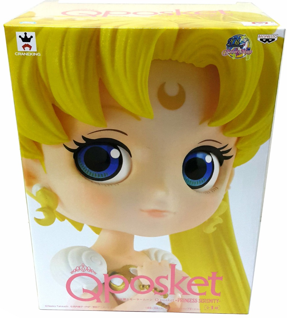 Original Banpresto 20th Anniversary Sailor Moon Q Posket Princess Serenity  PVC Action Figure-in Action & Toy Figures from Toys & Hobbies on  Aliexpress.com ...