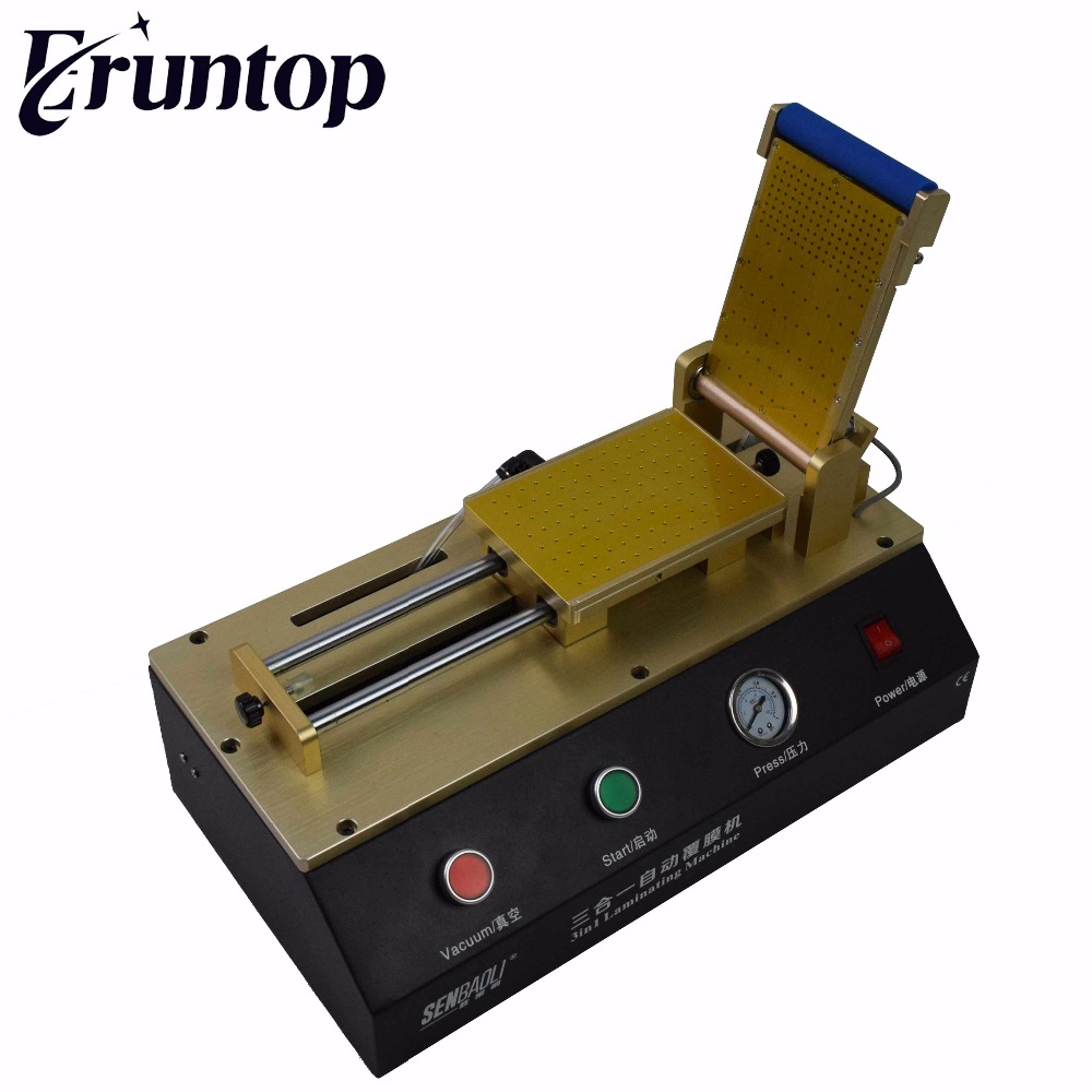 3 in 1 or 2 in 1 Built in Vacuum Pump Automatic OCA Film Laminating Machine Universal Machine for Mobile Phone LCD Repair